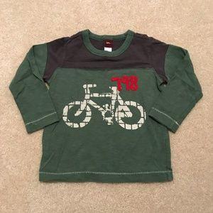 Tea Collection Long Sleeve Tee Shirt Bike 3T